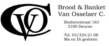 Bakkerij C. Van Osselaer